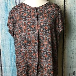 Chelsea & Theodore Printed Blouse (D)